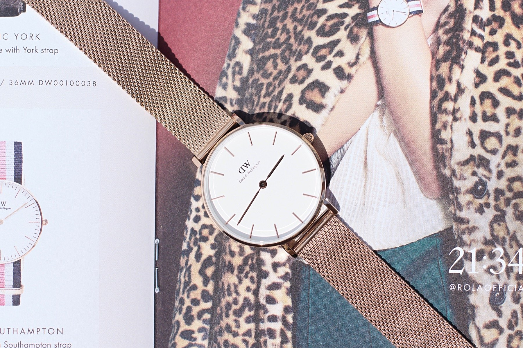 jenna minnie jennaminnie fashion blogger daniel wellington watch