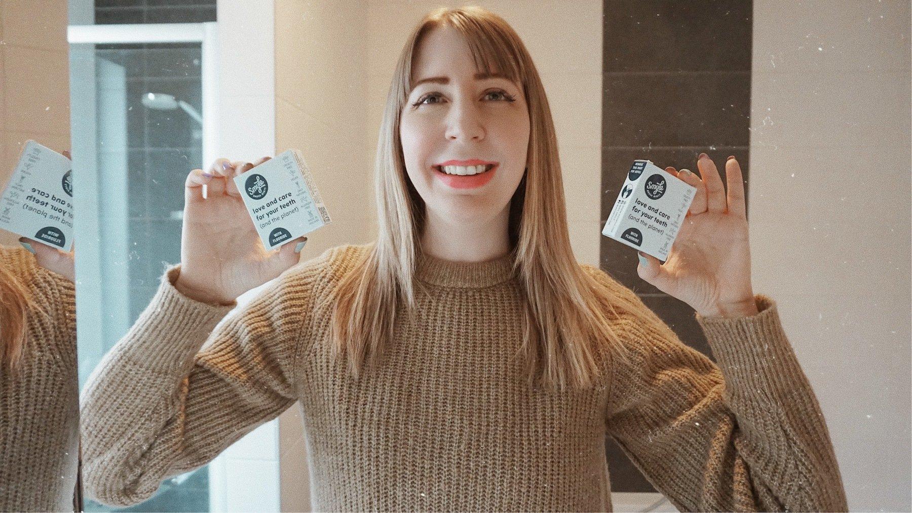 jenna minnie jennaminnie wesmyle toothpaste tablets