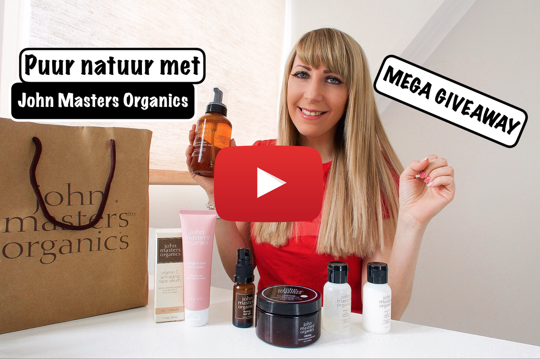 jennaminnie fashion blog youtube john masters organics mega givaway