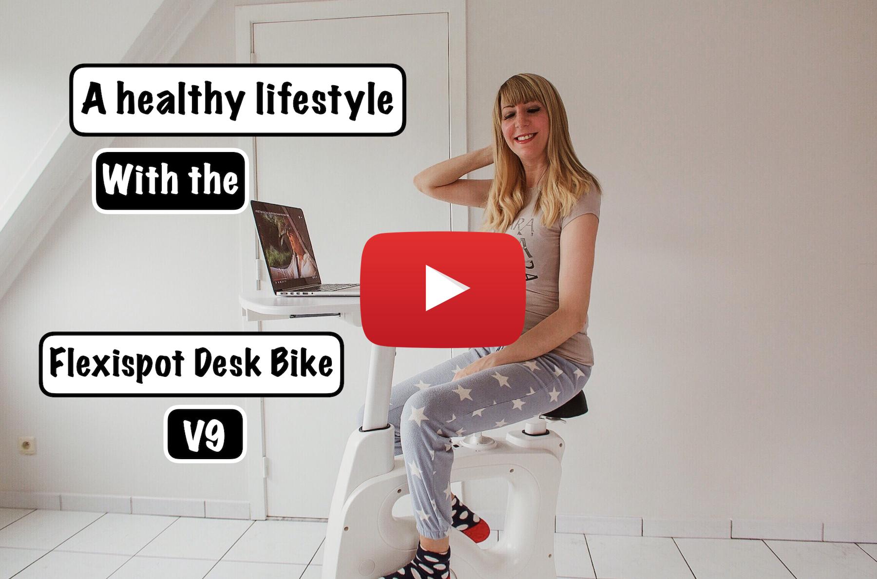jenna minnie fashion blog youtube flexispot desk bike