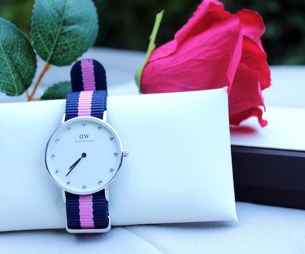 jennaminnie jenna minnie fashion blog Watch time: Daniel Wellington