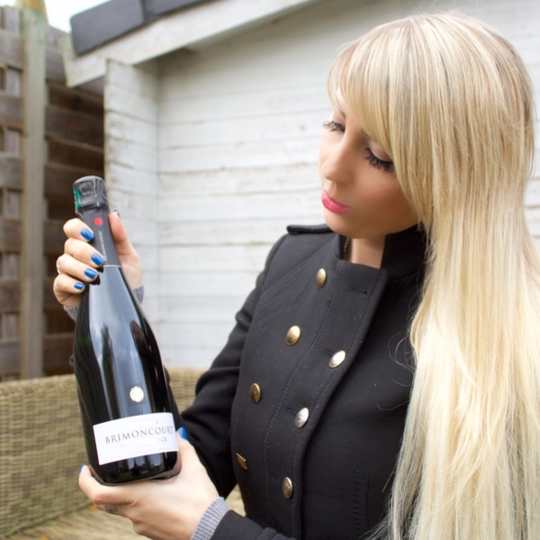 jennaminnie jenna minnie fashion blog Who wouldn't love a glass of Champagne Brimoncourt?