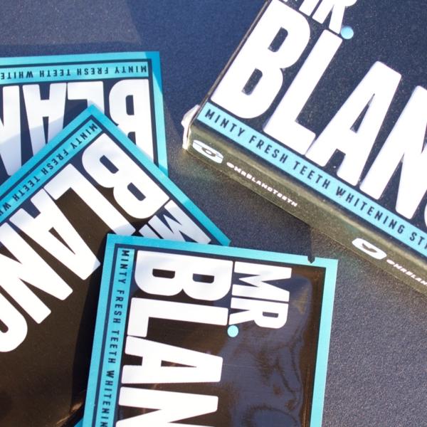jennaminnie jenna minnie fashion blog Mr. Blanc minty fresh teeth whitening strips