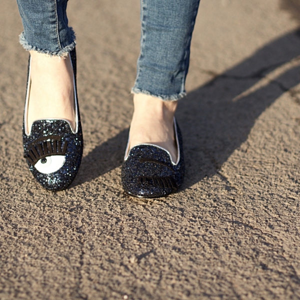 jennaminnie jenna minnie fashion blog Introducing Chiara Ferragni slippers with Shopbop