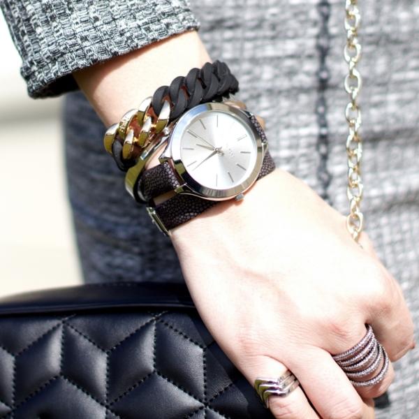 jennaminnie jenna minnie fashion blog Checking time with Michael Kors @ Shopbop