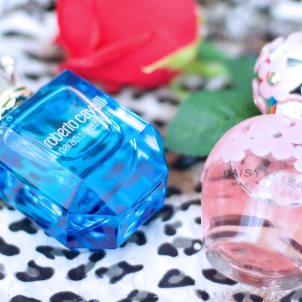 jennaminnie jenna minnie fashion blog Some amazing summer fragrances by Marc Jacobs and Roberto Cavalli