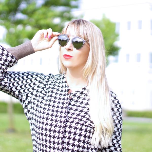 jennaminnie jenna minnie fashion blog Shopping Dior, Carrera and Céline with zonnebrilboetiek