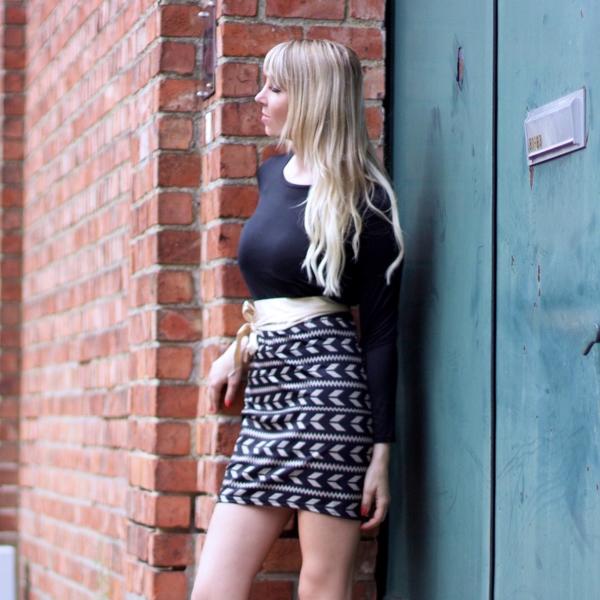 jennaminnie jenna minnie fashion blog Globally fashionable with Sammy Dress