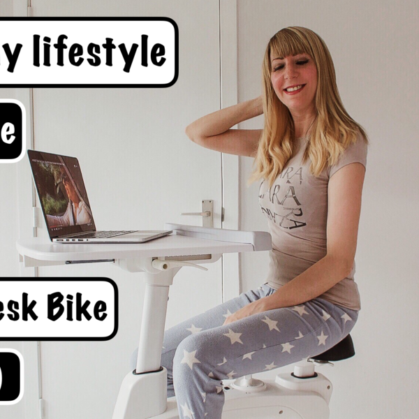 jennaminnie jenna minnie fashion blog A healthy lifestyle with the Flexispot desk bike V9