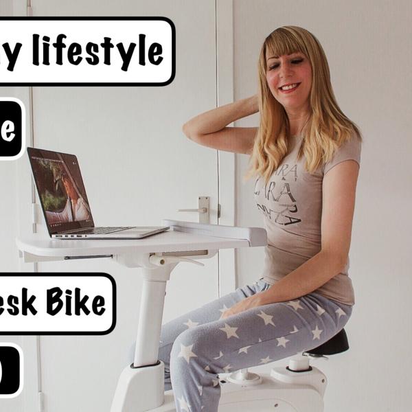 jennaminnie jenna minnie fashion blog A healthy lifestyle with the Flexispot desk bike V9